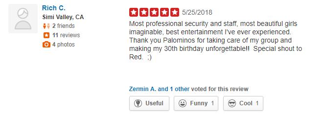 palomino yelp reviews