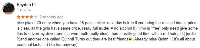 Little Darlings Google Reviews