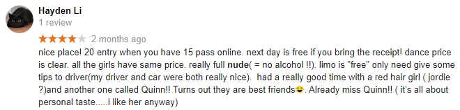 Little Darlings Google Reviews